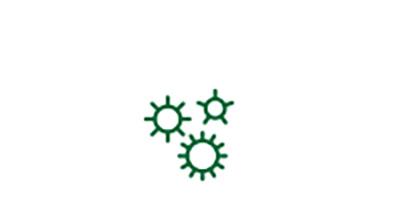 Icona germi patogeni come fattore di rischio di cataratta